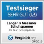Testsieger 09/2016