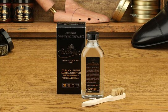 SAPHIR Nubuck Suede Cleaner Set