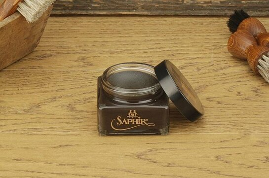 SAPHIR Shoe Cream 75ml Dark Brown