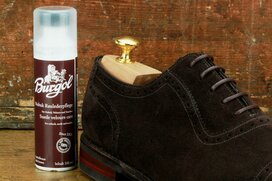 Burgol Suede Leather Cleaner 100 ml Dark Brown