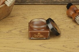SAPHIR Shoe Cream 75ml Mid Brown