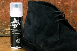 Burgol Suede Leather Cleaner 100 ml Black