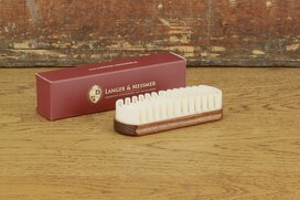 Langer & Messmer Suede Shoe Brush 15 mm