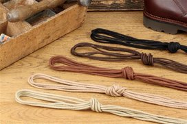 Langer & Messmer 2 Pairs Cotton Laces Round 110 cm