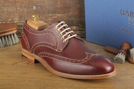 Barker Thompson Bordeaux Goodyear Welted
