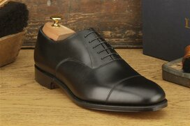 Loake Wells Black Size UK 7.5 Goodyear Welted MTO