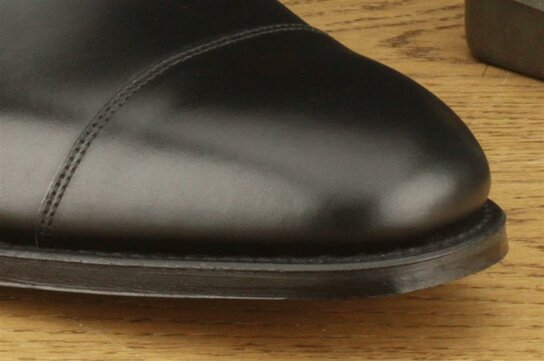 Loake Wells Black Size UK 10 Goodyear Welted MTO