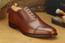 Loake Strand Mahogany Goodyear Welted