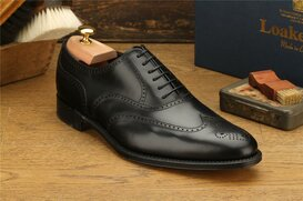 Loake Savoy Black Goodyear Welted MTO