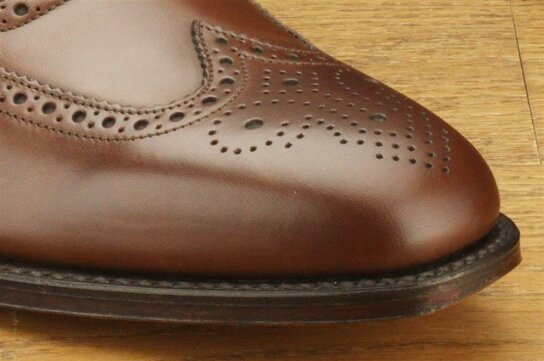 Loake Buckingham Dark Brown Goodyear Welted