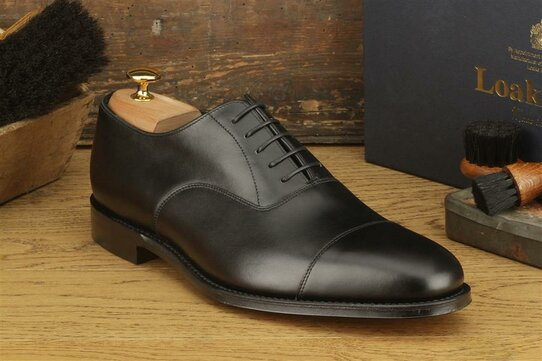 Loake Aldwych Black Size UK 9 Goodyear Welted