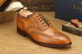 Loake Buckingham Tan Size UK 9 Goodyear Welted