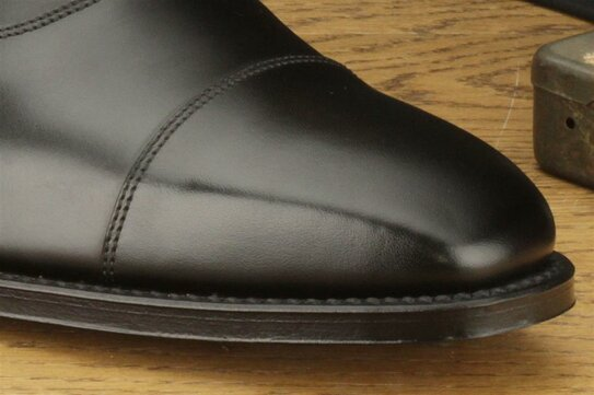 Loake Rothschild Black UK Size 8 Goodyear Welted