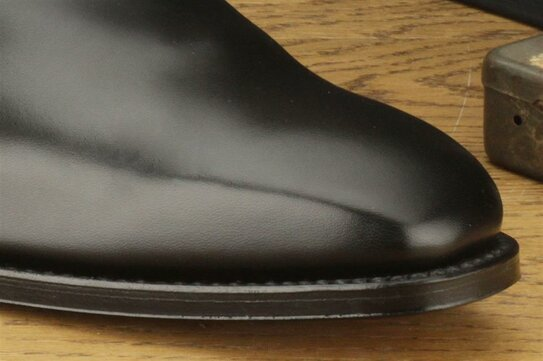 Loake Cornwall Black Goodyear Welted
