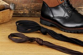 Langer & Messmer 2 Pairs Cotton Shoelaces Flat 125 cm