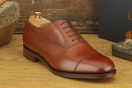 Loake Wells Mahogany Size UK 10.5 Goodyear Welted MTO