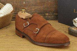 Loake Cannon Brown Suede Goodyear Welted