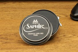 SAPHIR 100 ml Polishing Wax Black