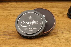SAPHIR 100 ml Polishing Wax Mid Brown