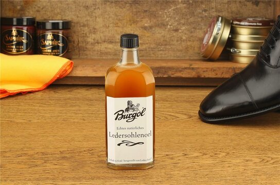 Burgol Leather Sole Protector Oil 125 ml