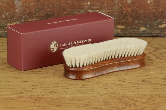 Langer & Messmer Premium High Gloss Goatshair Polishing Brush