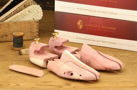 Langer & Messmer Cedarwood Shoe Trees Size UK 3/4.5 - EU...