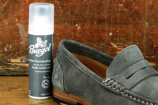 Burgol Suede Leather Cleaner 100 ml Grey