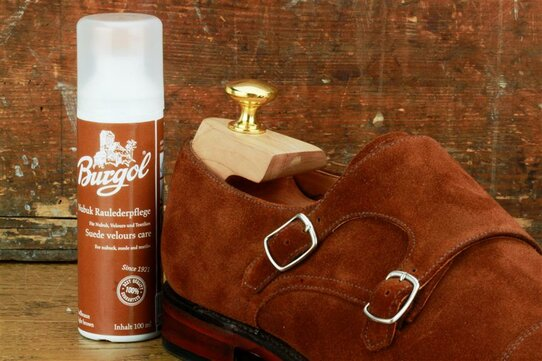 Burgol Suede Leather Cleaner 100 ml Light Brown
