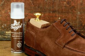 Burgol Suede Leather Cleaner 100 ml Mid Brown