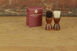 Langer & Messmer Horsehair Jar Brush