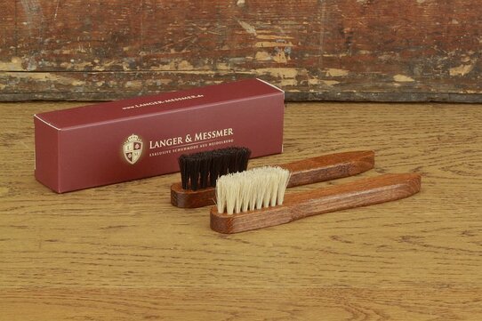 Langer & Messmer Horsehair Welt Brush