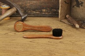 Langer & Messmer Leather Cream Dark Horsehair Applicator...