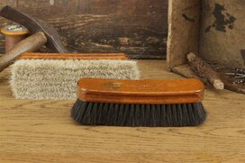 Langer & Messmer Polish and Dust Horsehair Brush