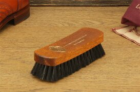 Langer & Messmer Dark Horsehair Polish & Dust Brush