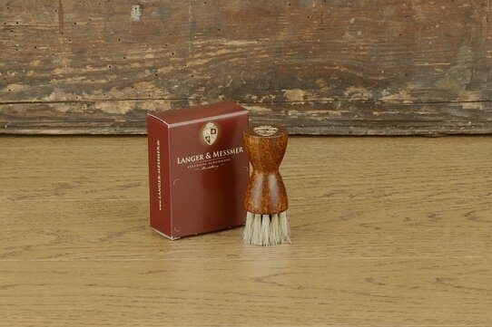 Langer & Messmer Set of 2 Horsehair Jar Brushes