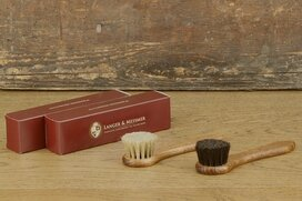 Langer & Messmer Set of 2 Shoe Cream Brushes