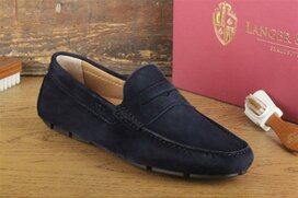 Langer & Messmer Pescara Navy Blue Suede