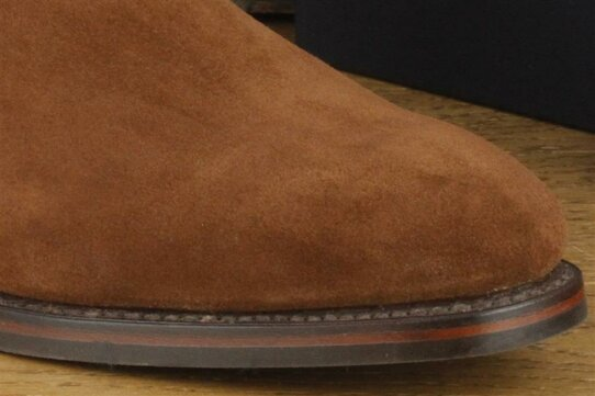 Loake Chatsworth Brown Suede Goodyear Welted Rubber Soles
