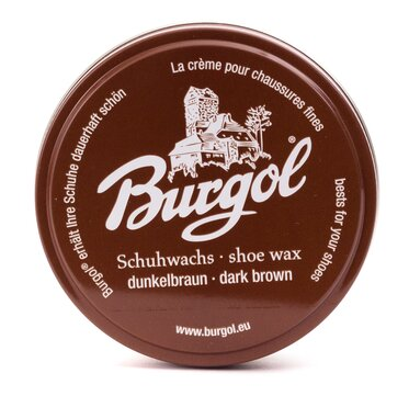 Burgol Shoe Wax Polish 100 ml Dark Brown