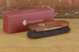 Langer & Messmer Exclusive Horsehair Polishing Brush