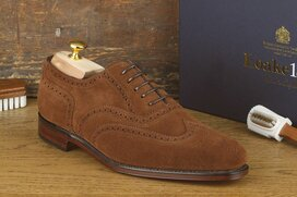 Loake Buckingham Brown Suede Goodyear Welted