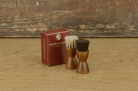 Langer & Messmer 2 piece applicator horsehair brush set