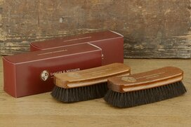 Langer & Messmer 2 piece dust and polishing horsehair...