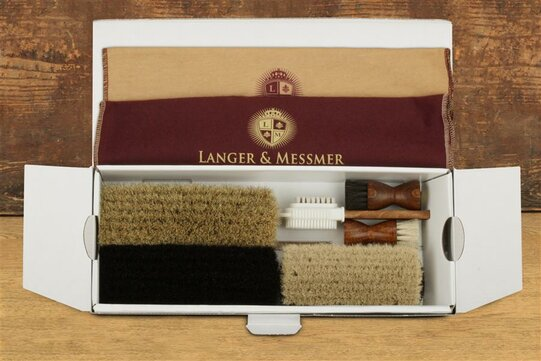 Langer & Messmer 17 Piece Shoe Care Kit