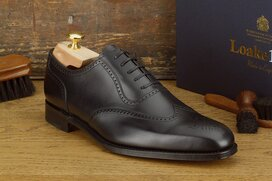 Loake Ettrick Black Goodyear Welted