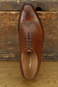 Loake Ettrick Brown Goodyear Welted