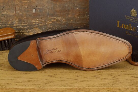 Loake Laxford Black Goodyear Welted