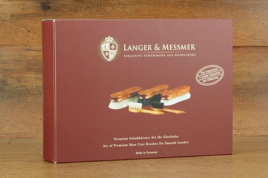 Langer & Messmer Set of 5 Premium Brushes