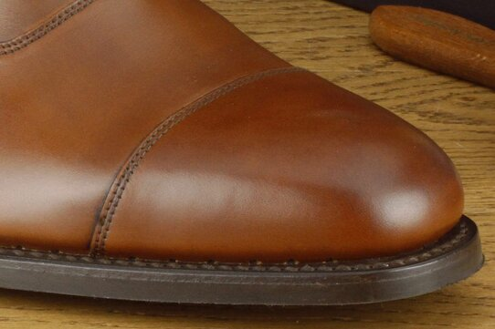 Loake Aldwych Brown Goodyear Welted Rubber Soles