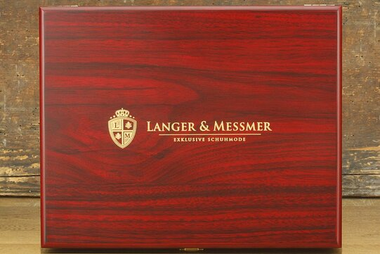 Langer & Messmer Wooden Valet Box Munich (Without Contents)